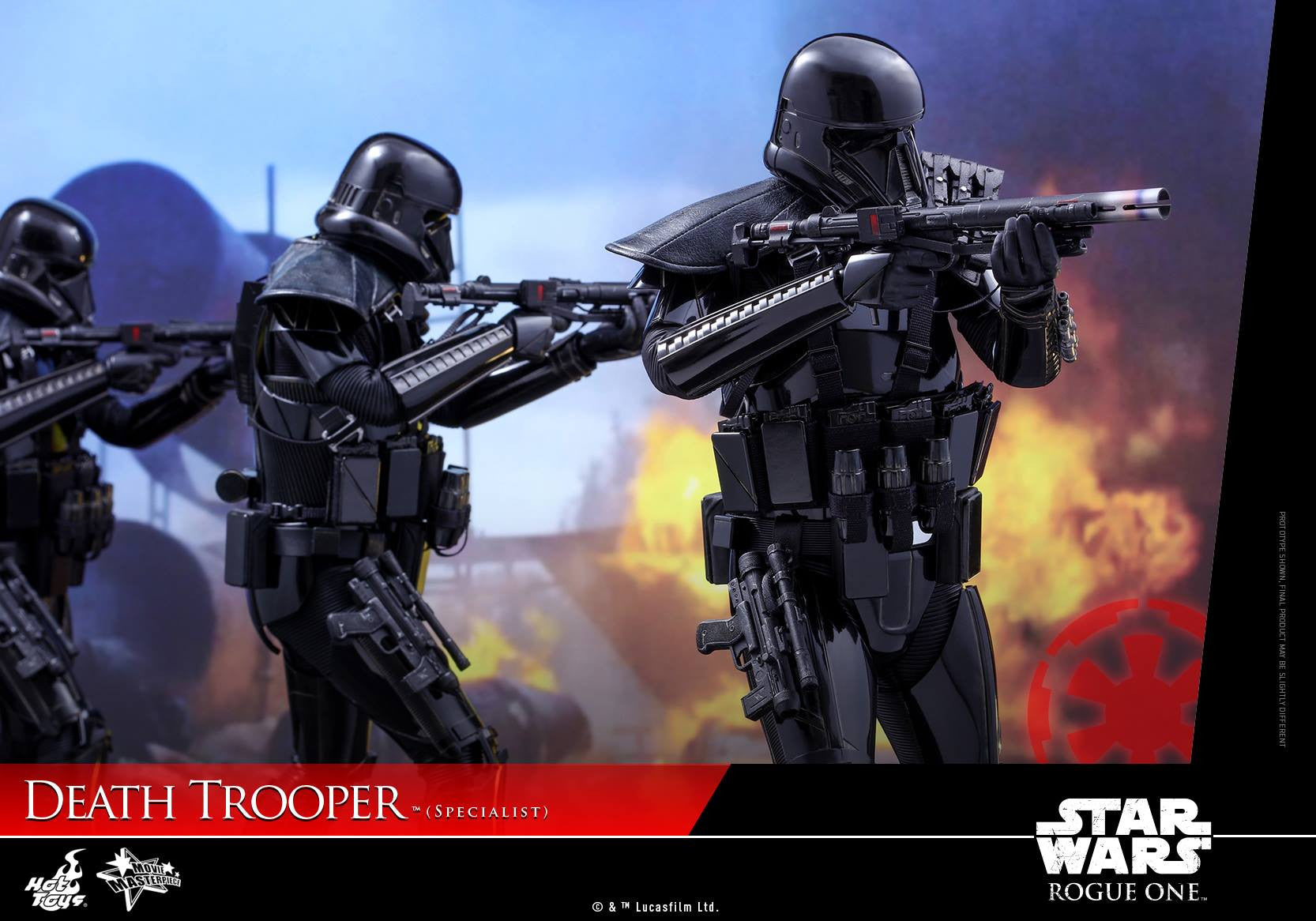 Hot Toys - MMS385 - Rogue One: A Star Wars Story - Death Trooper (Specialist) - Marvelous Toys - 10