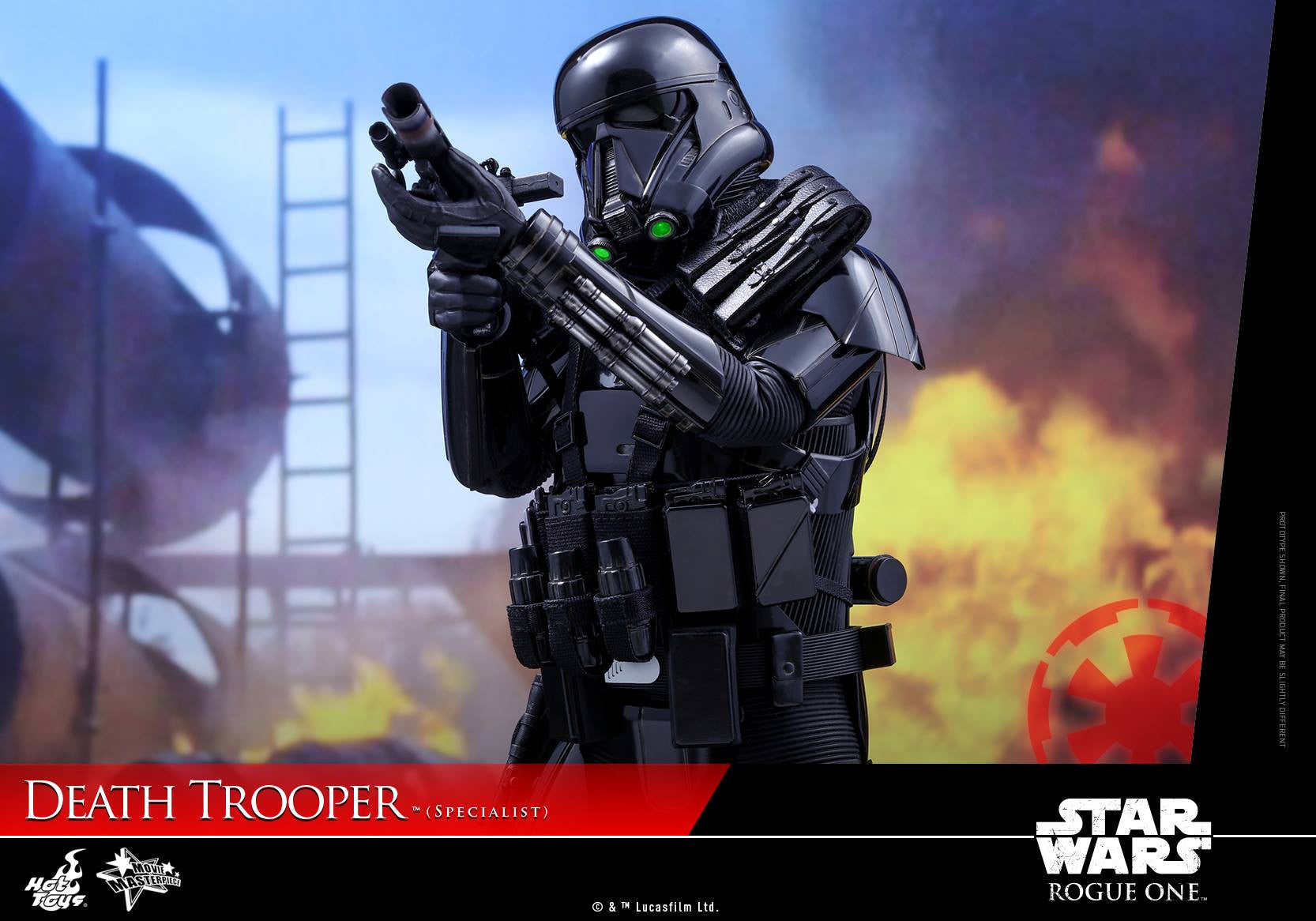 Hot Toys - MMS385 - Rogue One: A Star Wars Story - Death Trooper (Specialist) - Marvelous Toys - 11