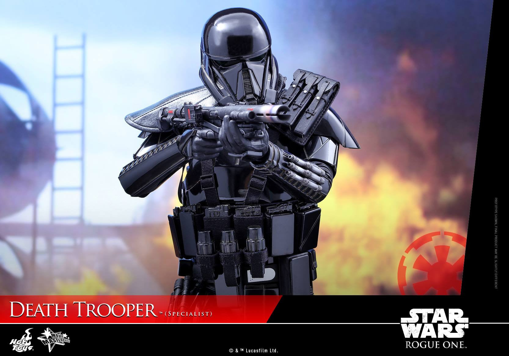 Hot Toys - MMS385 - Rogue One: A Star Wars Story - Death Trooper (Specialist) - Marvelous Toys - 12