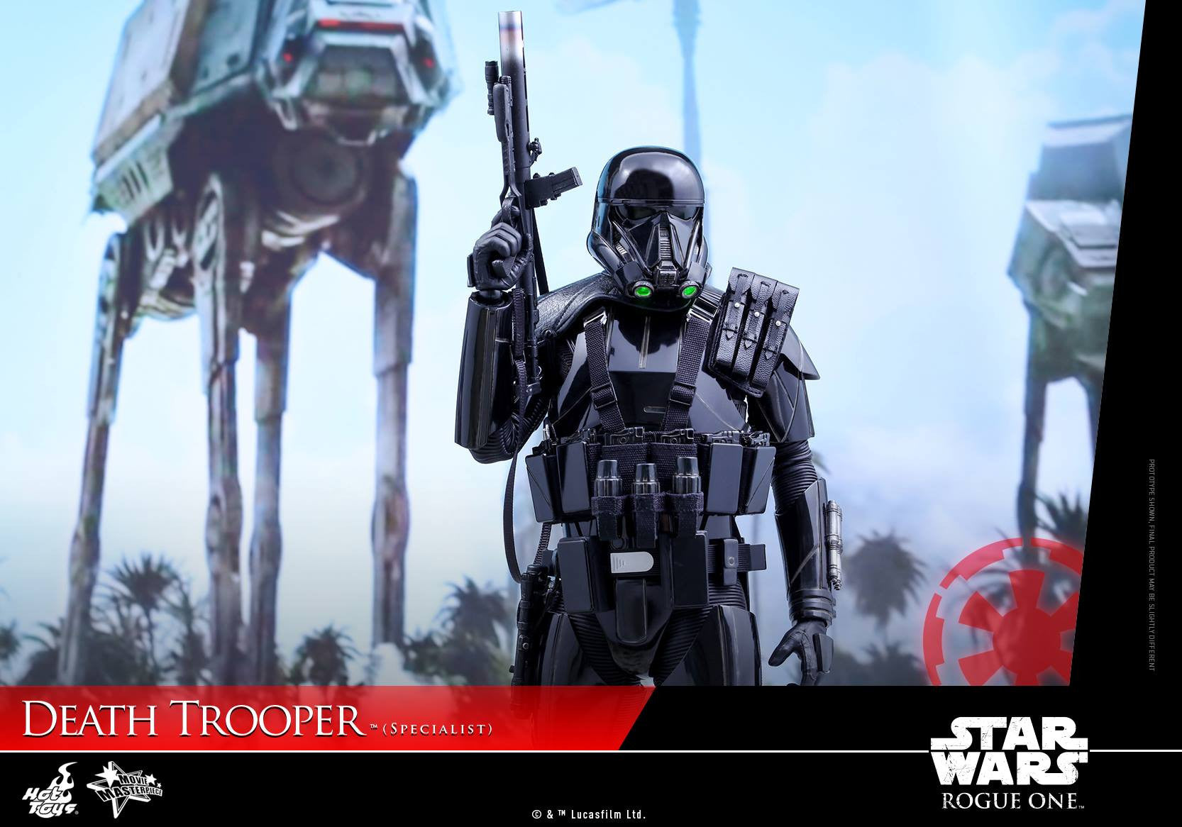 Hot Toys - MMS385 - Rogue One: A Star Wars Story - Death Trooper (Specialist) - Marvelous Toys - 13