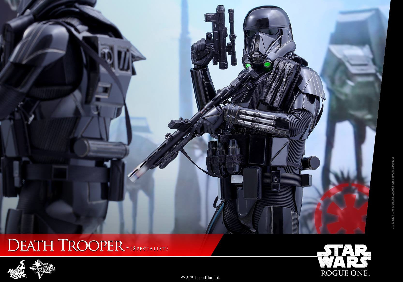 Hot Toys - MMS385 - Rogue One: A Star Wars Story - Death Trooper (Specialist) - Marvelous Toys - 14