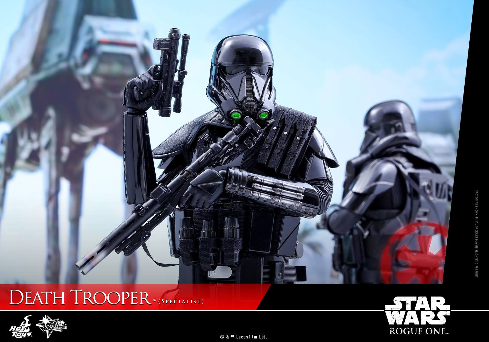 Hot Toys - MMS385 - Rogue One: A Star Wars Story - Death Trooper (Specialist) - Marvelous Toys - 15