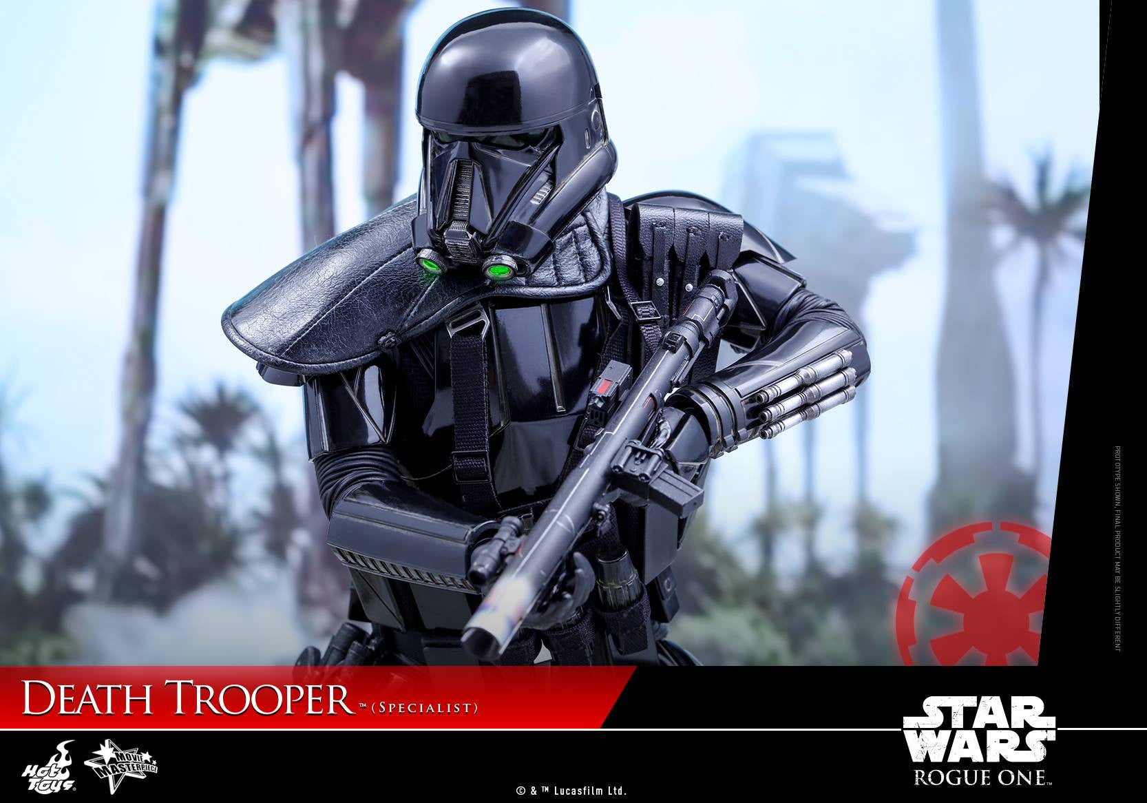 Hot Toys - MMS385 - Rogue One: A Star Wars Story - Death Trooper (Specialist) - Marvelous Toys - 17