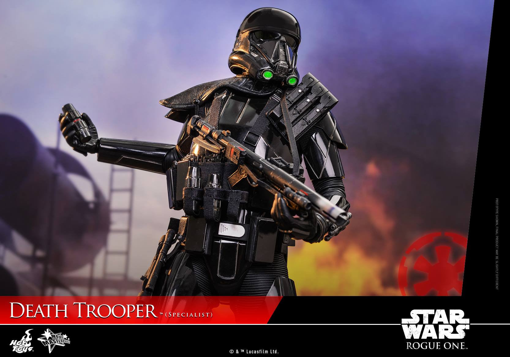 Hot Toys - MMS385 - Rogue One: A Star Wars Story - Death Trooper (Specialist) - Marvelous Toys - 19