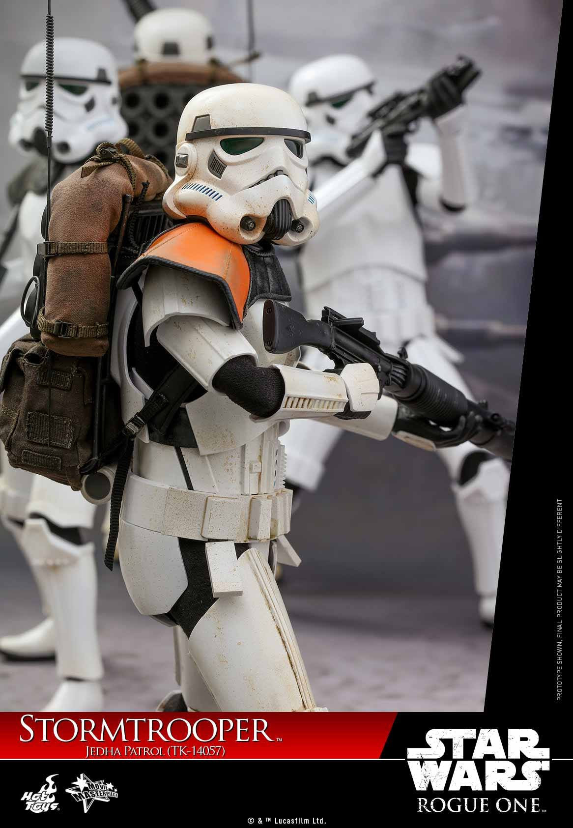 Hot Toys - MMS392 - Rogue One: A Star Wars Story - Stormtrooper Jedha Patrol (TK-14057) - Marvelous Toys - 3