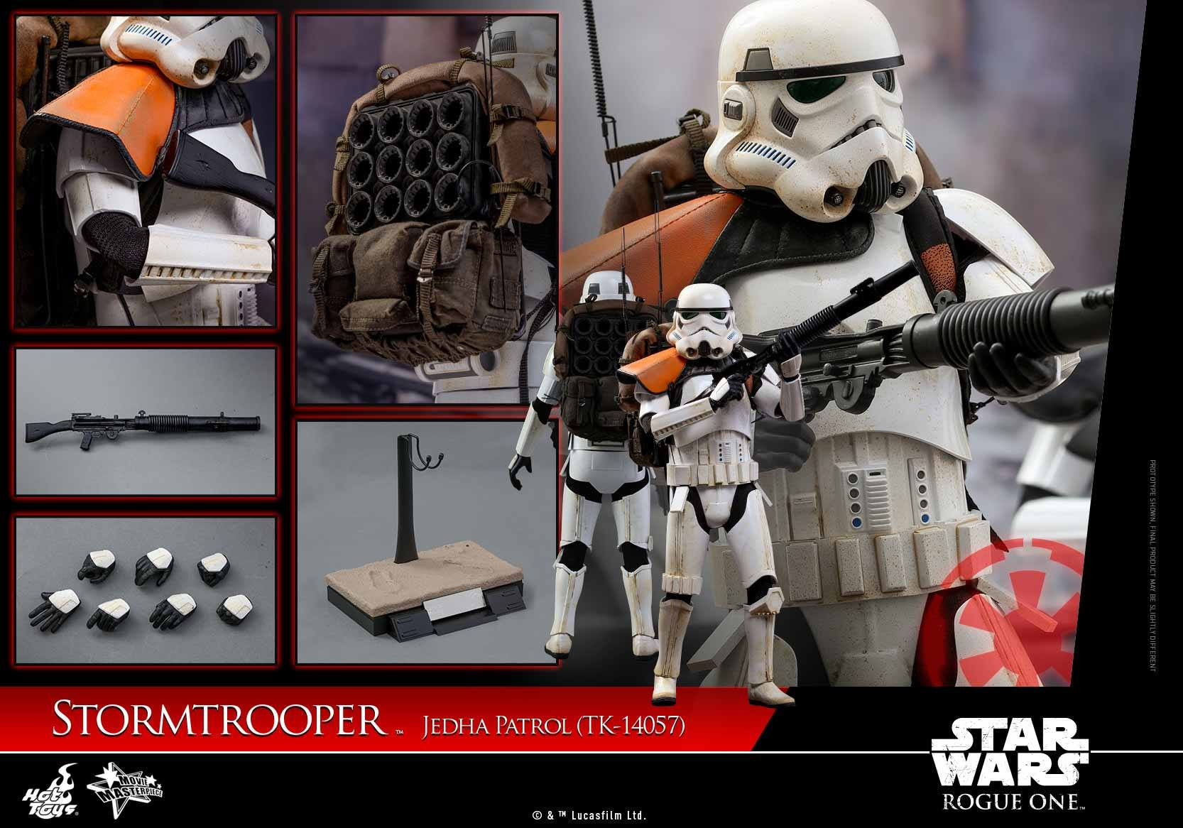 Hot Toys - MMS392 - Rogue One: A Star Wars Story - Stormtrooper Jedha Patrol (TK-14057) - Marvelous Toys - 7