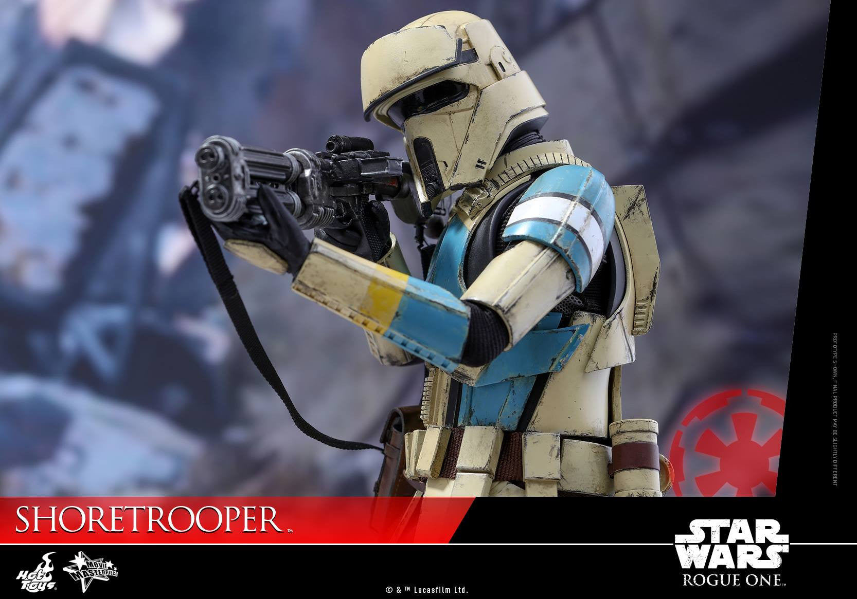 Hot Toys - MMS389 - Rogue One: A Star Wars Story - Shoretrooper - Marvelous Toys - 1
