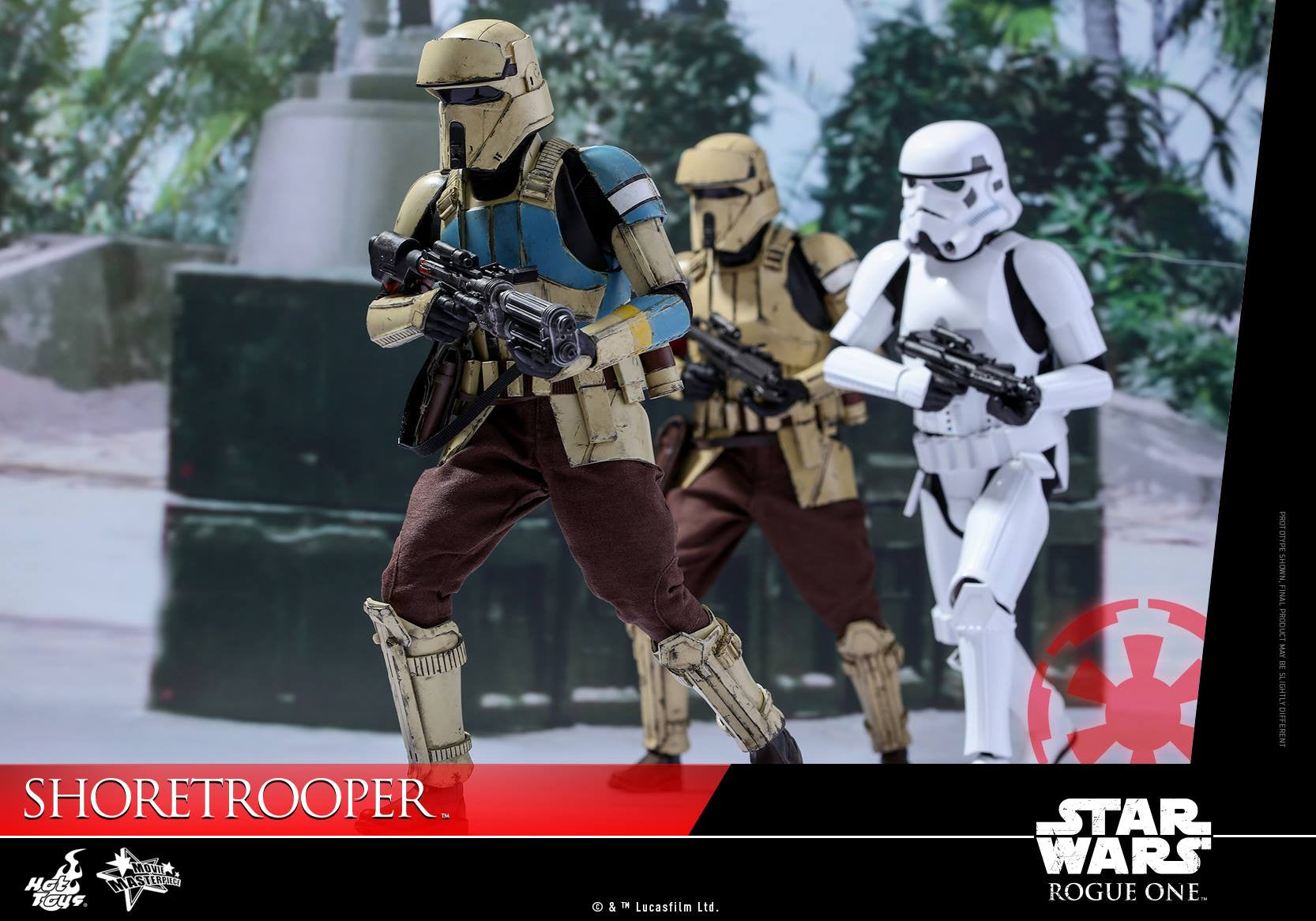 Hot Toys - MMS389 - Rogue One: A Star Wars Story - Shoretrooper - Marvelous Toys - 3