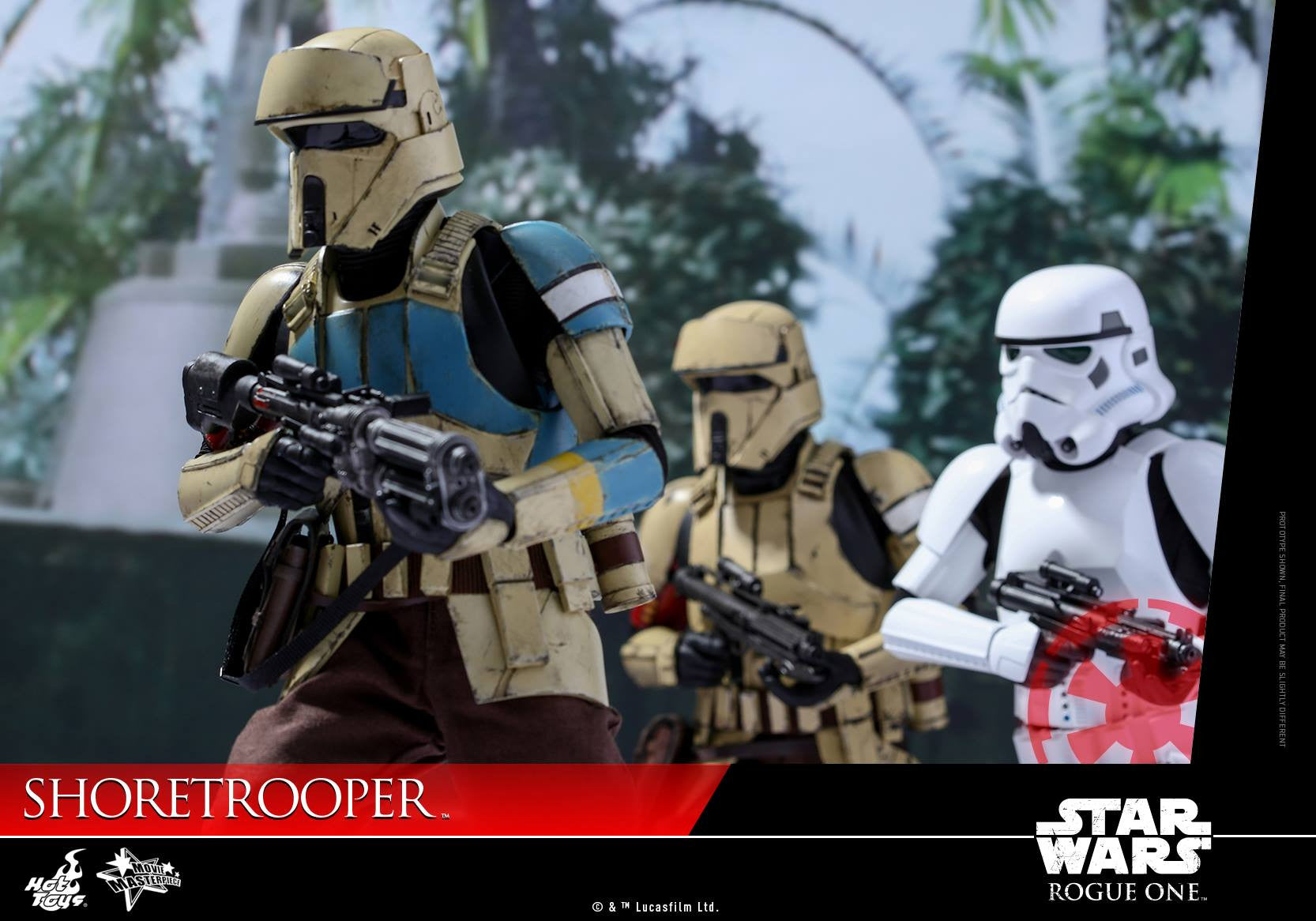 Hot Toys - MMS389 - Rogue One: A Star Wars Story - Shoretrooper - Marvelous Toys - 4