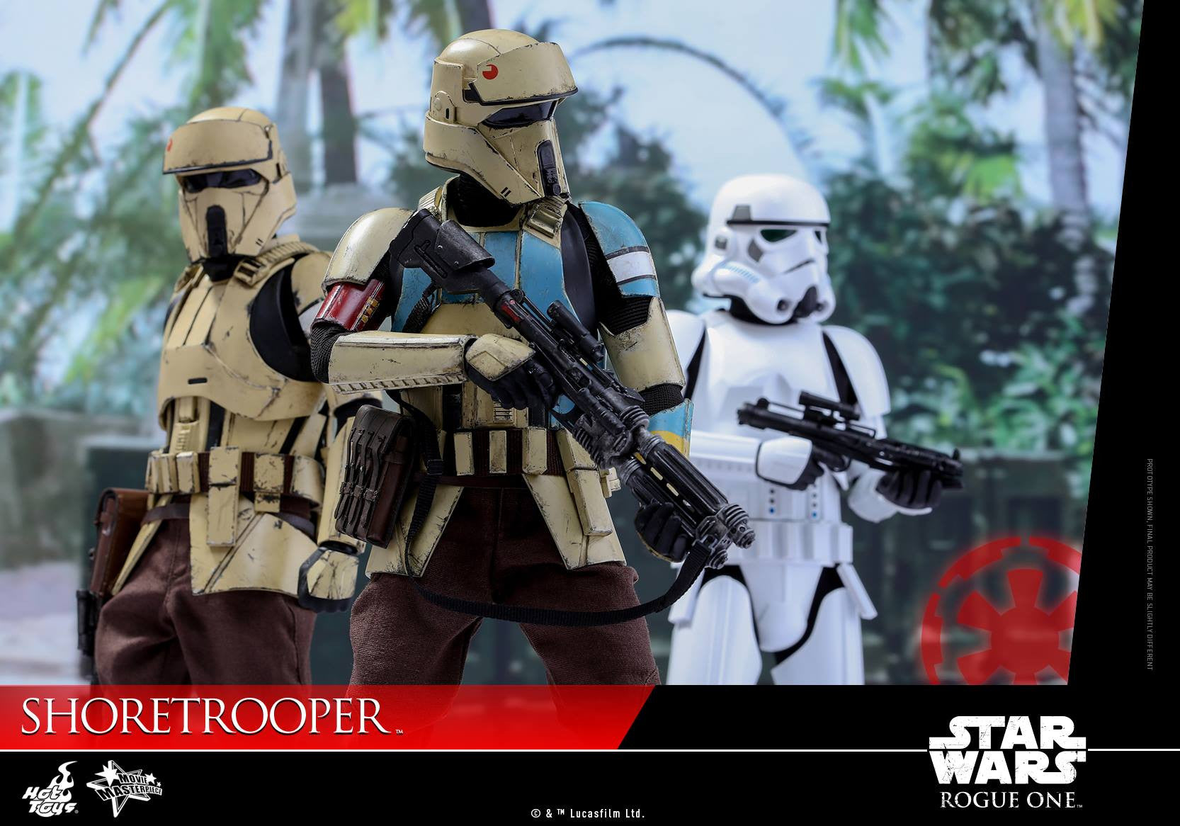 Hot Toys - MMS389 - Rogue One: A Star Wars Story - Shoretrooper - Marvelous Toys - 5