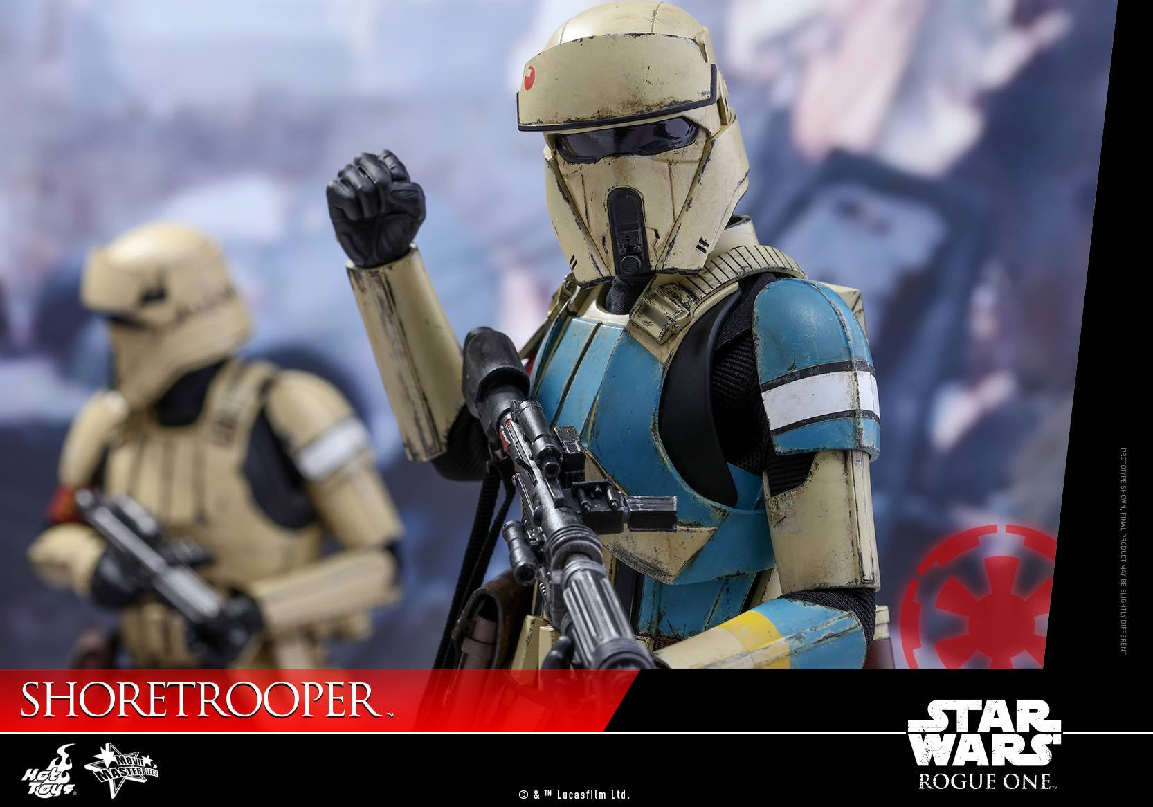 Hot Toys - MMS389 - Rogue One: A Star Wars Story - Shoretrooper - Marvelous Toys - 7