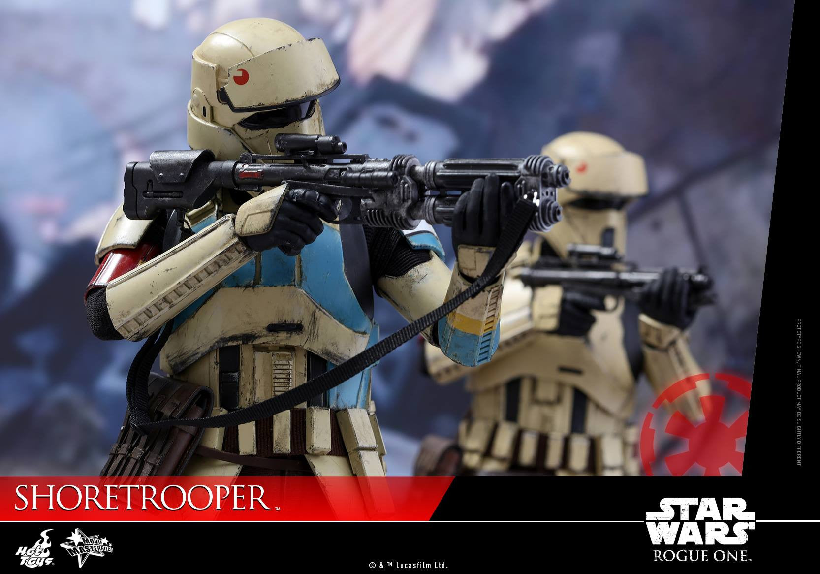 Hot Toys - MMS389 - Rogue One: A Star Wars Story - Shoretrooper - Marvelous Toys - 9