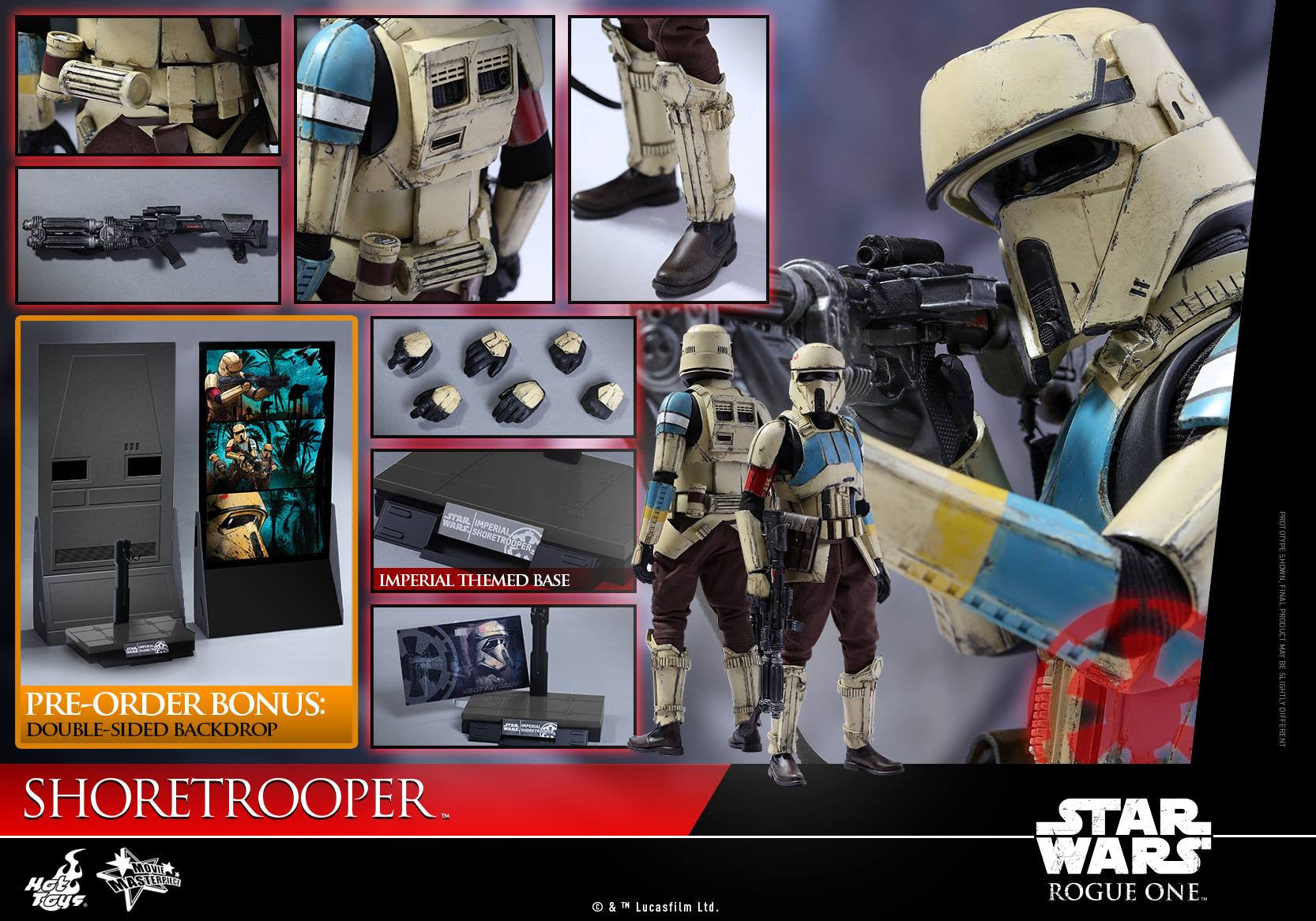 Hot Toys - MMS389 - Rogue One: A Star Wars Story - Shoretrooper - Marvelous Toys - 10