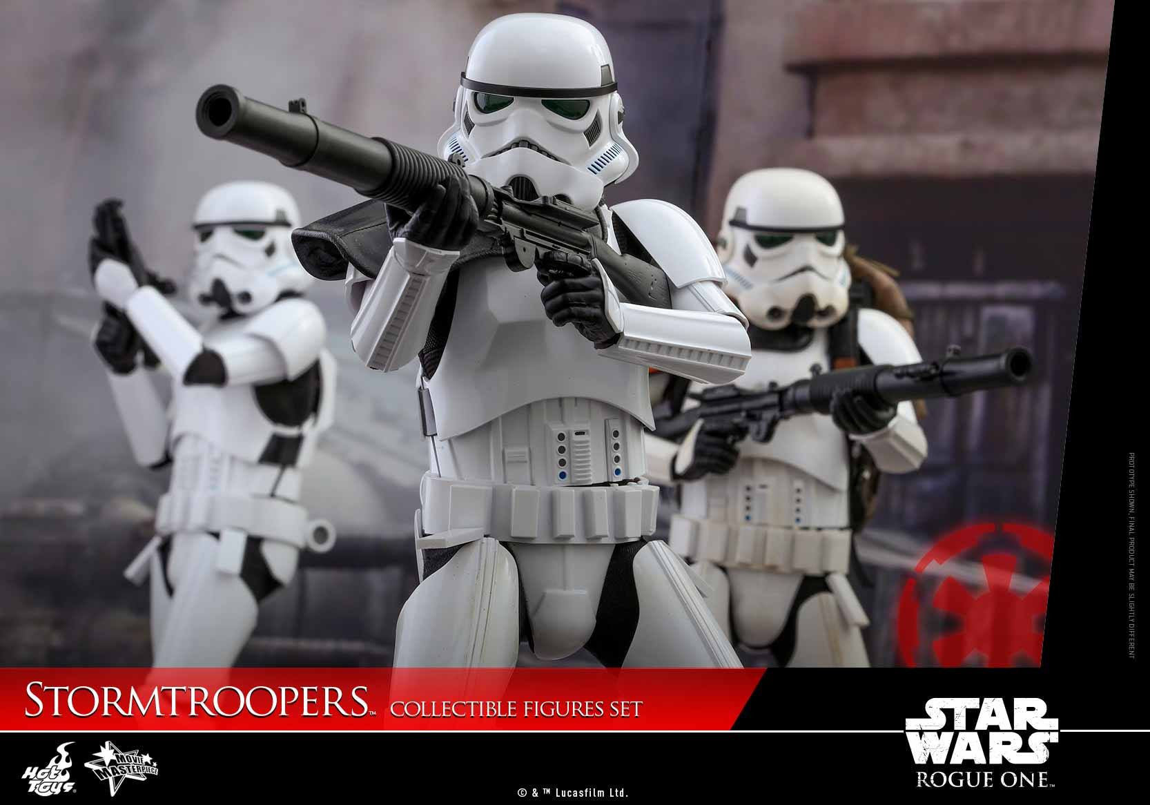 Hot Toys - MMS394 - Rogue One: A Star Wars Story - Stormtroopers Set - Marvelous Toys - 5