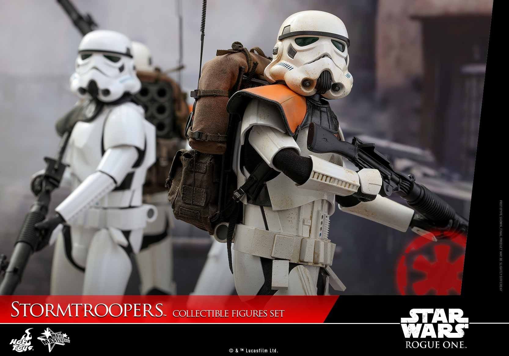 Hot Toys - MMS394 - Rogue One: A Star Wars Story - Stormtroopers Set - Marvelous Toys - 2