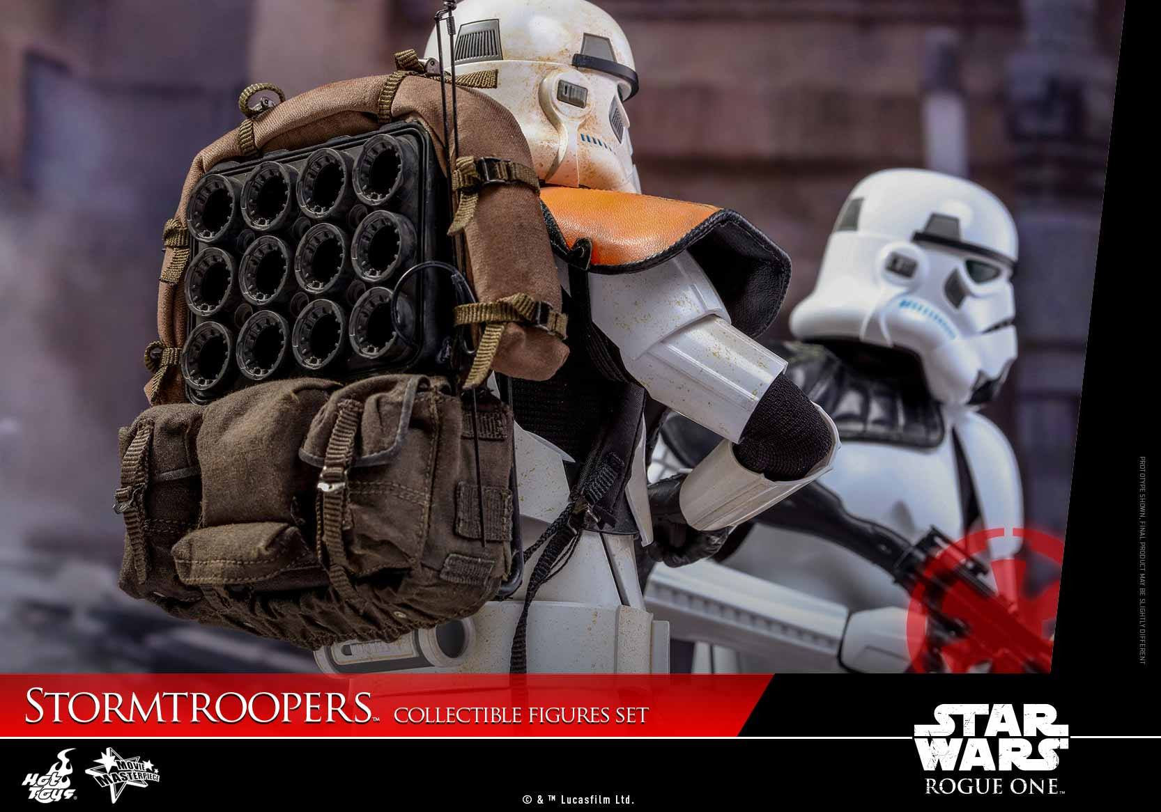 Hot Toys - MMS394 - Rogue One: A Star Wars Story - Stormtroopers Set - Marvelous Toys - 3