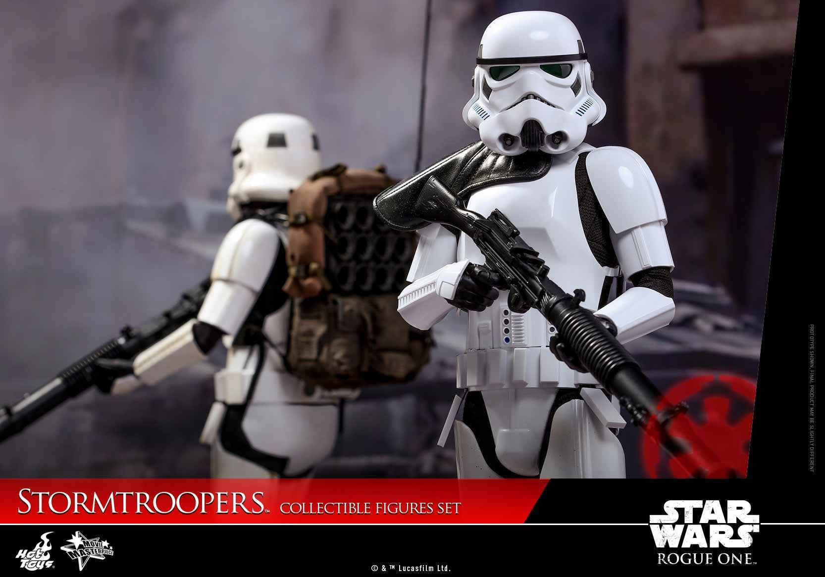 Hot Toys - MMS394 - Rogue One: A Star Wars Story - Stormtroopers Set - Marvelous Toys - 7