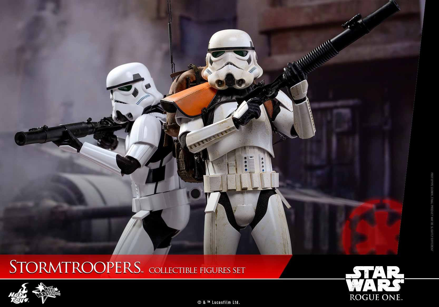 Hot Toys - MMS394 - Rogue One: A Star Wars Story - Stormtroopers Set - Marvelous Toys - 4