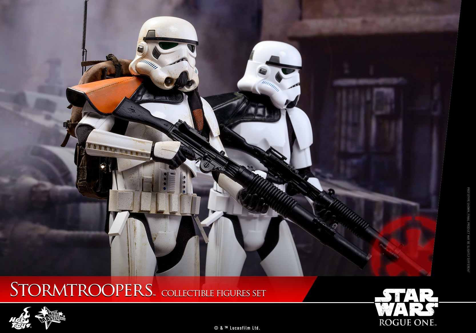 Hot Toys - MMS394 - Rogue One: A Star Wars Story - Stormtroopers Set - Marvelous Toys - 8