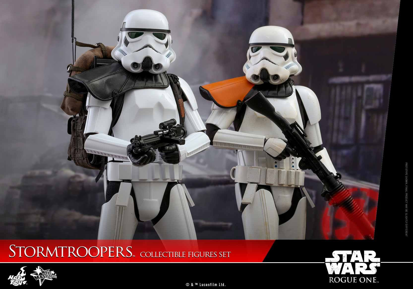 Hot Toys - MMS394 - Rogue One: A Star Wars Story - Stormtroopers Set - Marvelous Toys - 9
