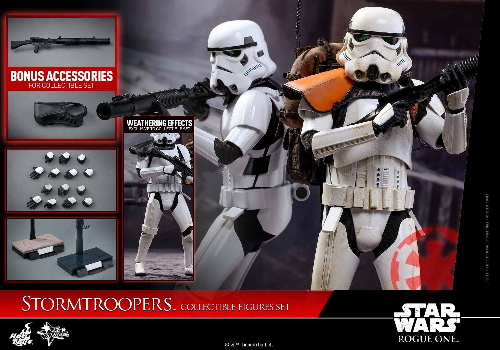 Hot Toys - MMS394 - Rogue One: A Star Wars Story - Stormtroopers Set - Marvelous Toys - 11