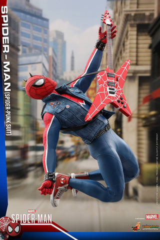 Hot Toys - VGM32 - Marvel's Spider-Man - Spider-Man (Spider-Punk Suit)