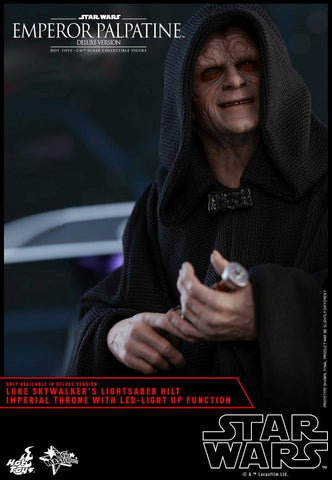 Hot Toys - MMS468 - Star Wars: Return of the Jedi - Emperor Palpatine (Deluxe Version)