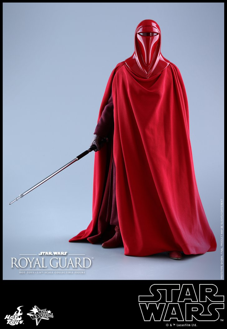 Hot Toys - MMS469 - Star Wars: Return of the Jedi - Royal Guard