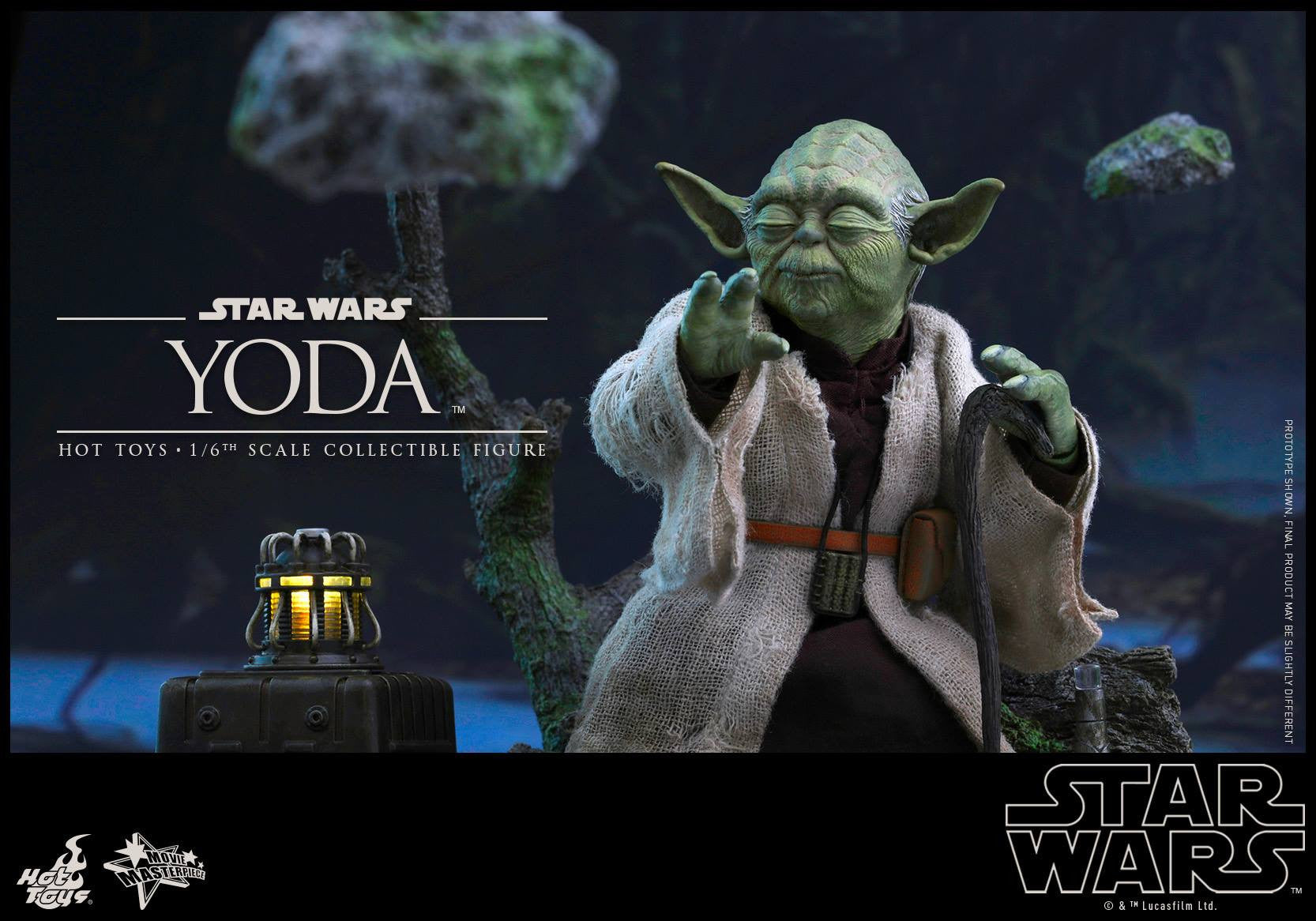 Hot Toys - MMS369 - Star Wars: The Empire Strikes Back - Yoda - Marvelous Toys - 4