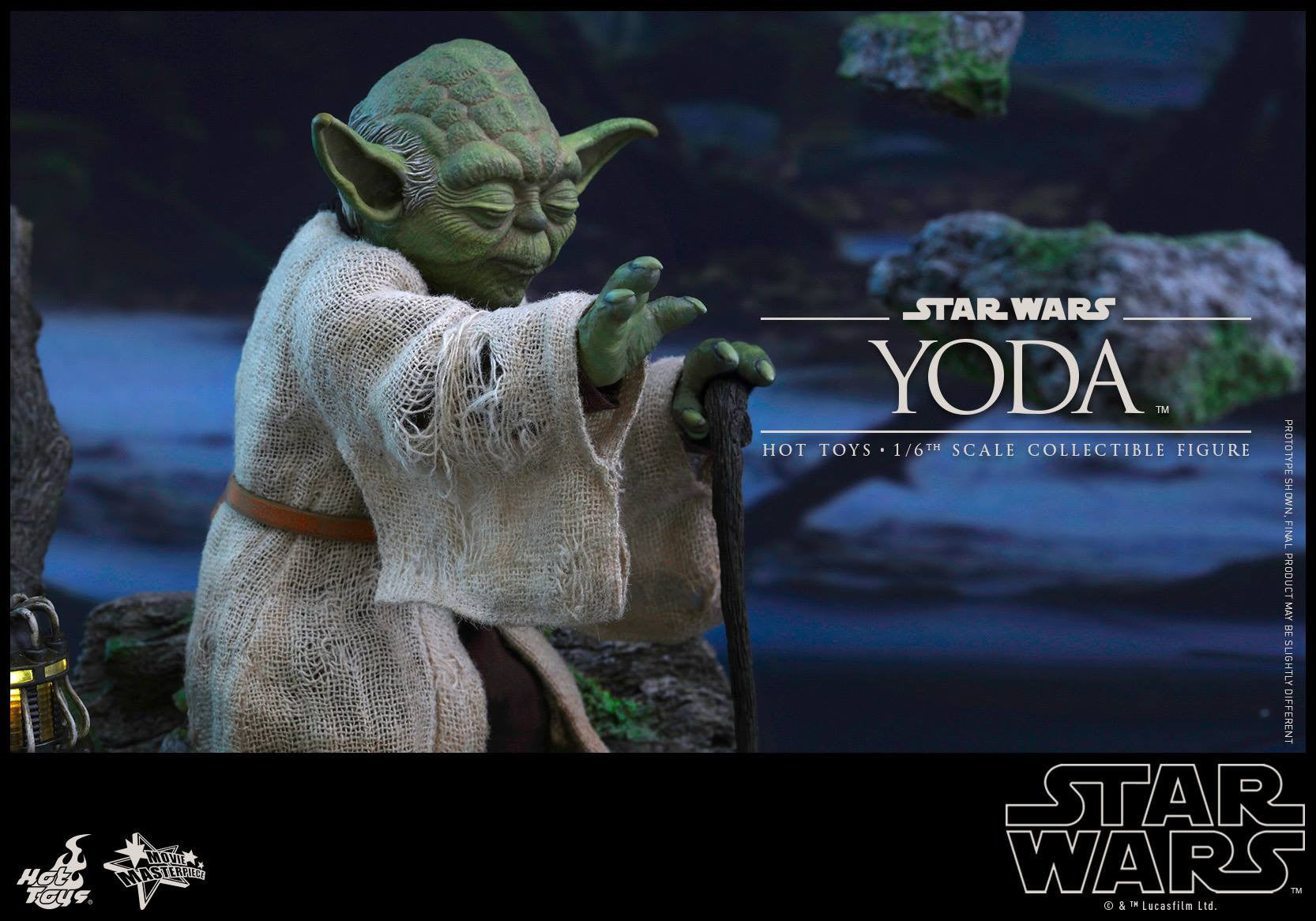 Hot Toys - MMS369 - Star Wars: The Empire Strikes Back - Yoda - Marvelous Toys - 5