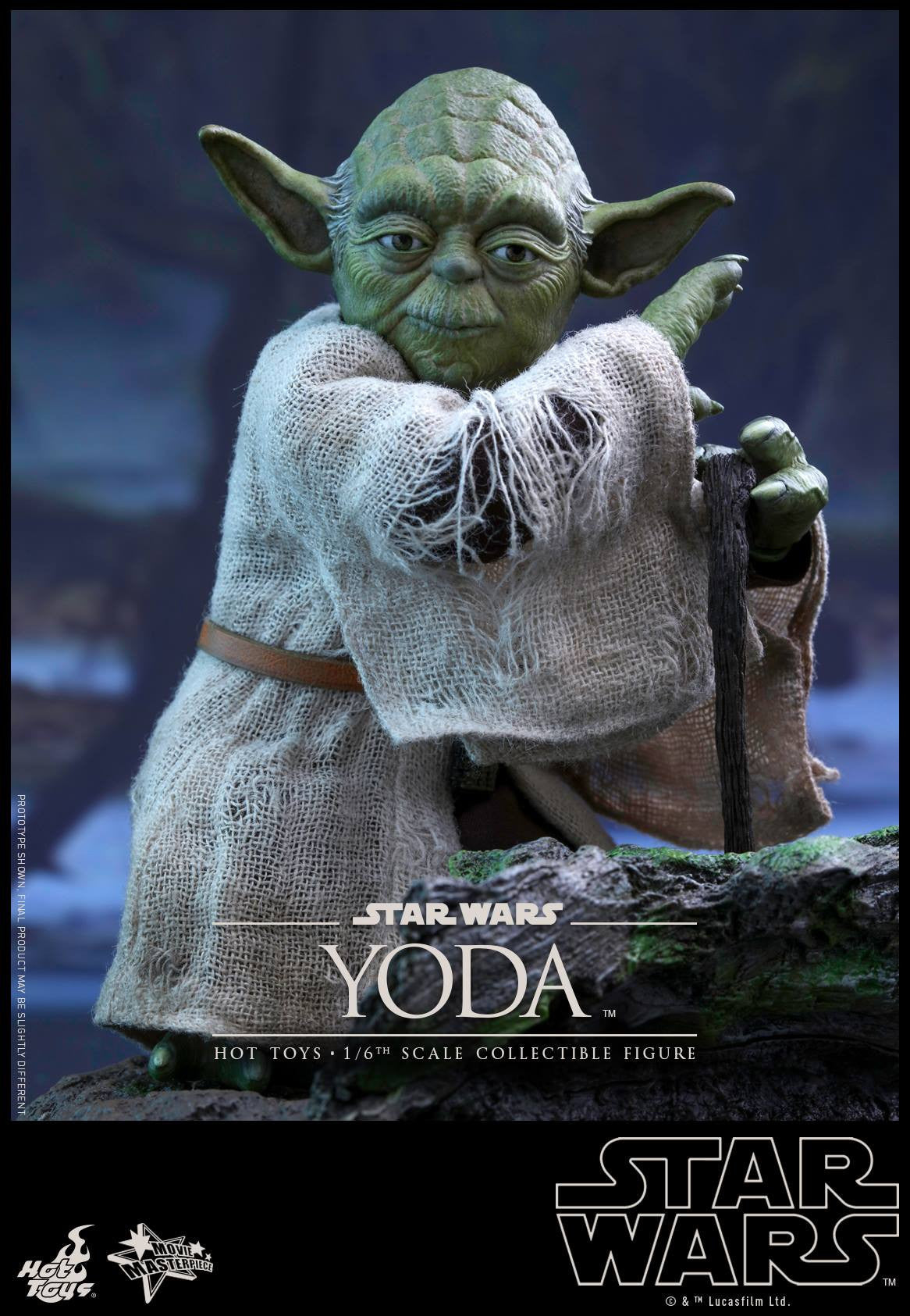 Hot Toys - MMS369 - Star Wars: The Empire Strikes Back - Yoda - Marvelous Toys - 8