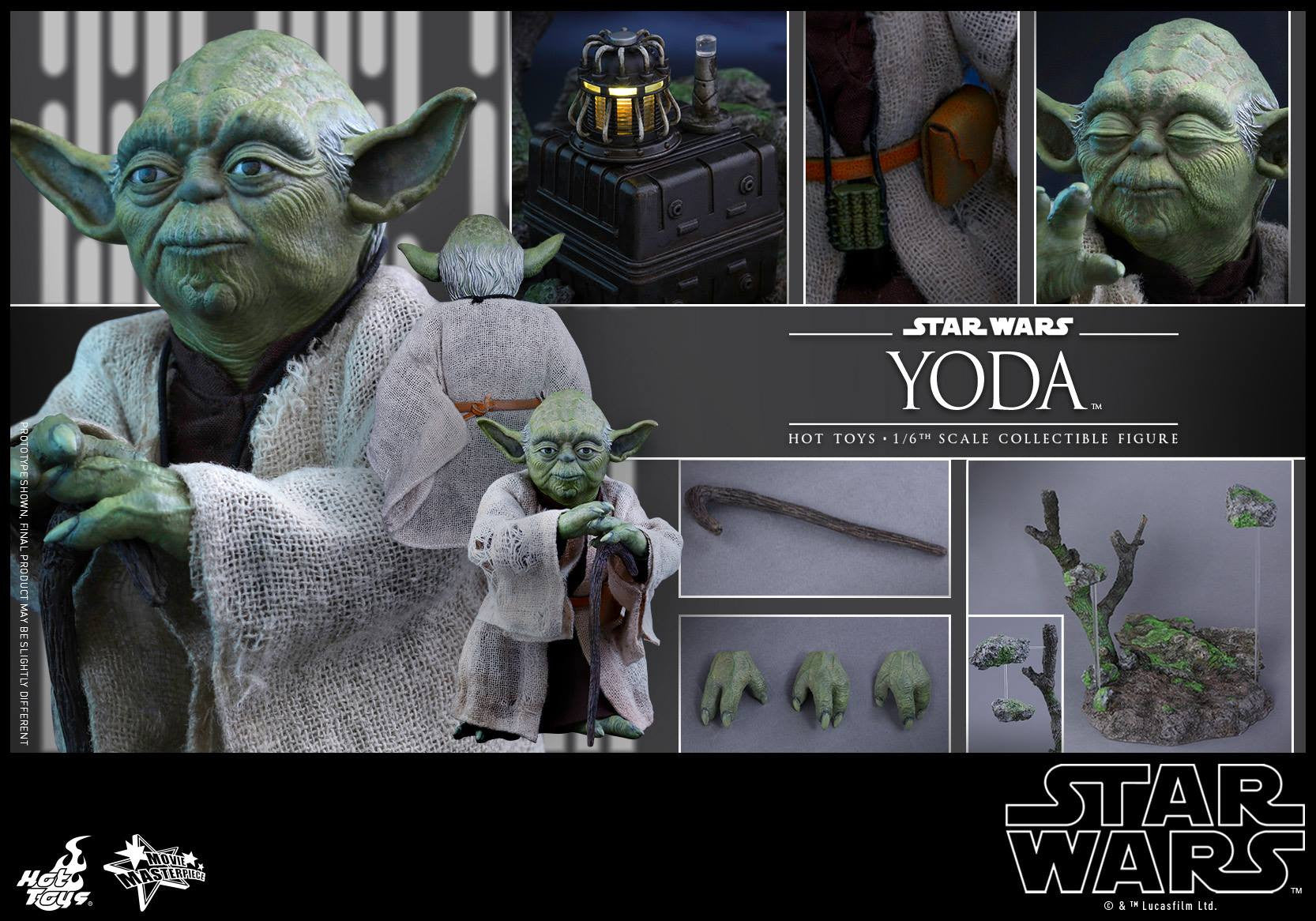 Hot Toys - MMS369 - Star Wars: The Empire Strikes Back - Yoda - Marvelous Toys - 13