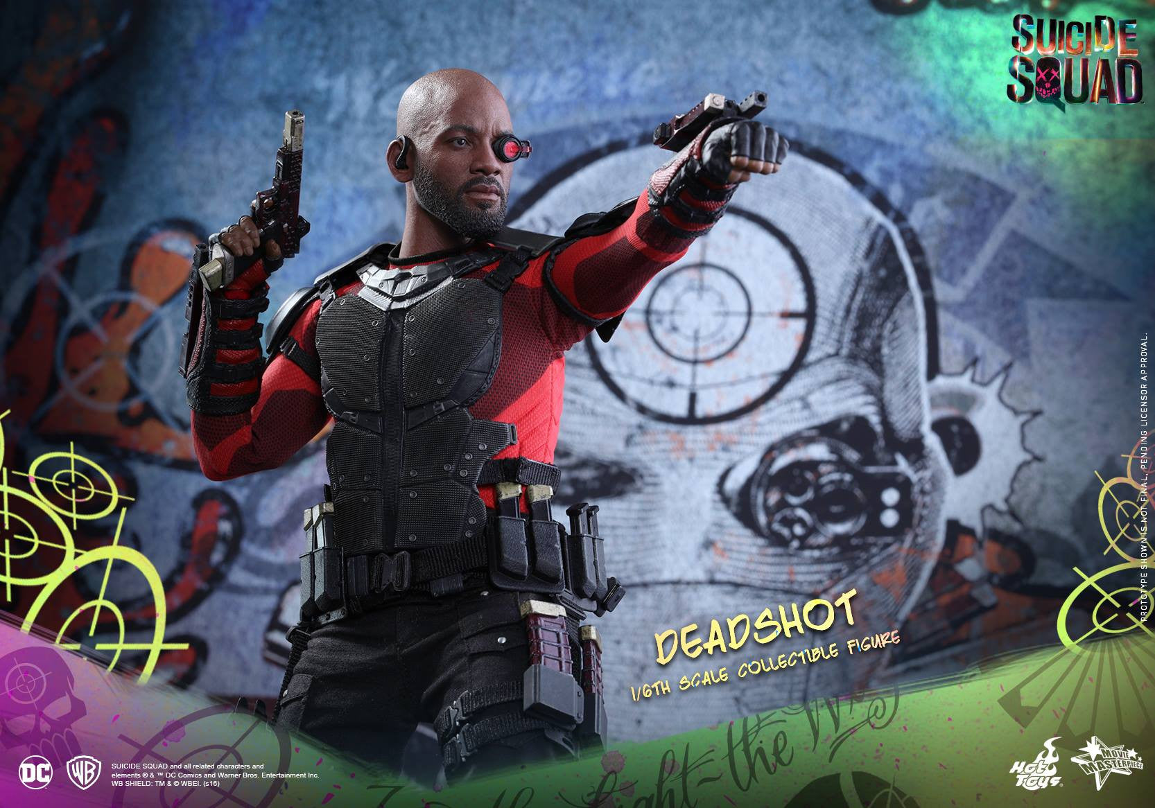 Hot Toys - MMS381 - Suicide Squad - Deadshot (Normal Edition) - Marvelous Toys - 3