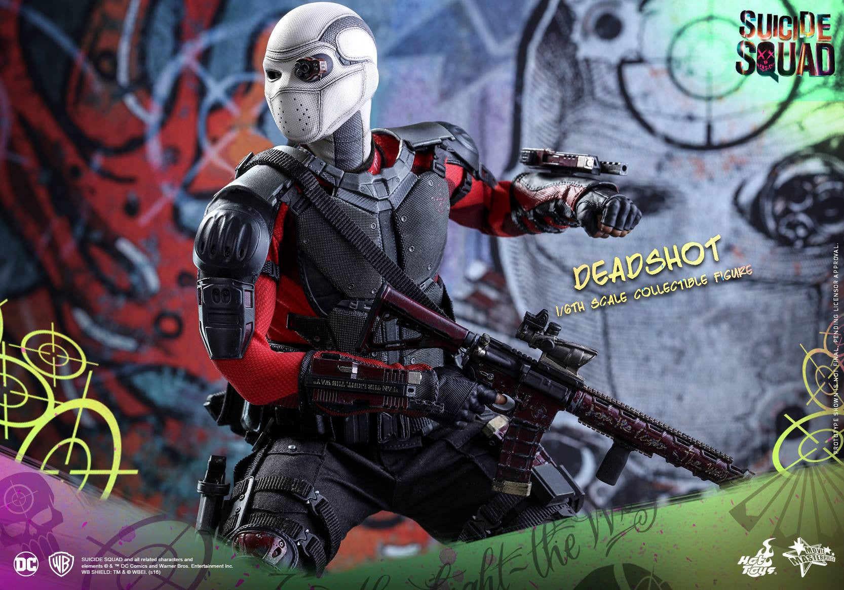 Hot Toys - MMS381 - Suicide Squad - Deadshot (Normal Edition) - Marvelous Toys - 19