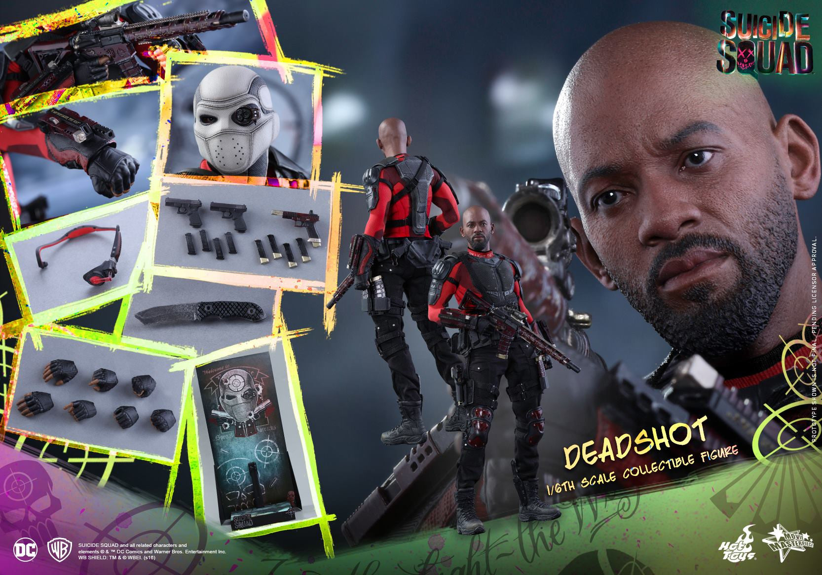 Hot Toys - MMS381 - Suicide Squad - Deadshot (Normal Edition) - Marvelous Toys - 21