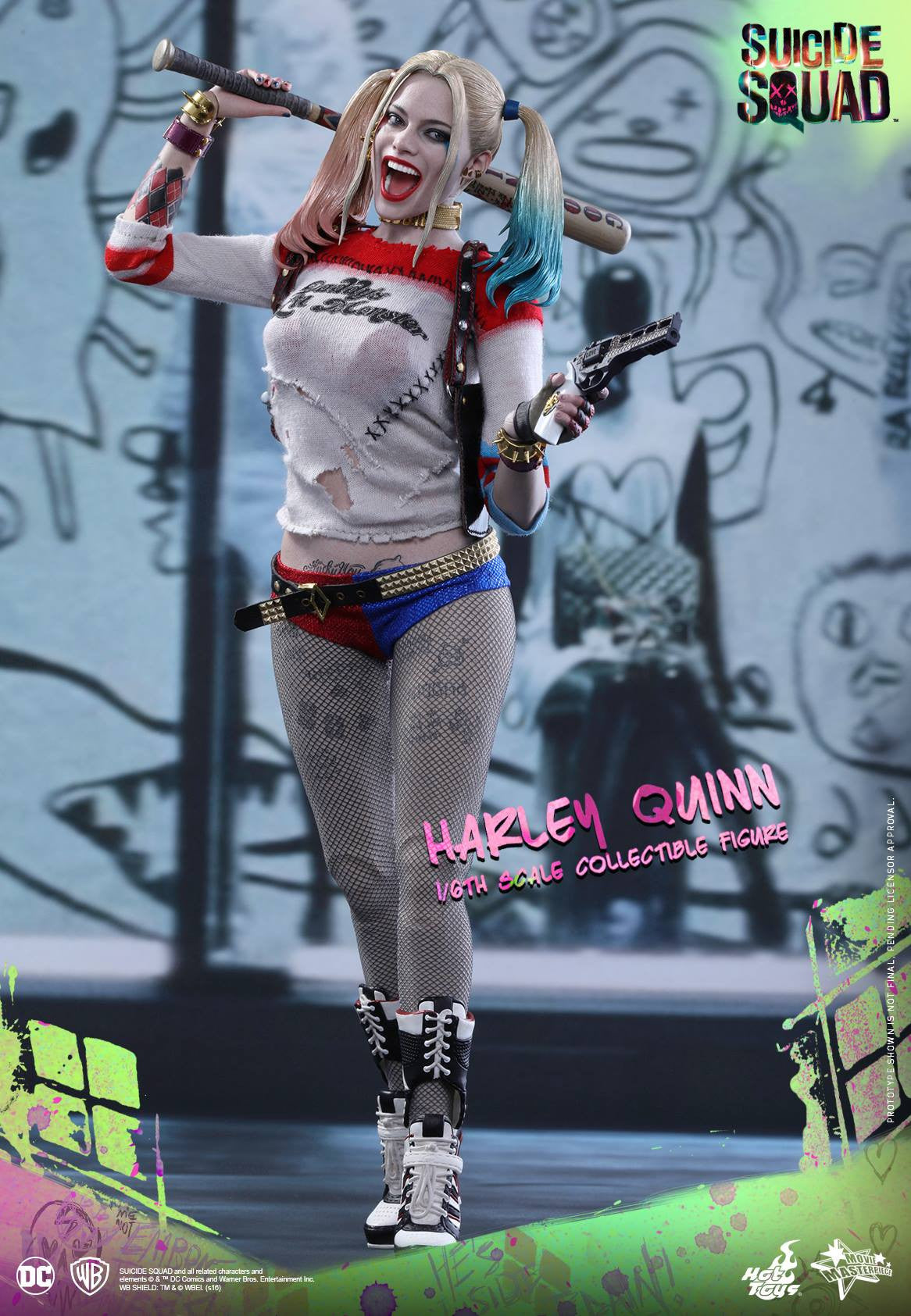 Hot Toys - MMS383 - Suicide Squad - Harley Quinn (Normal Edition) - Marvelous Toys - 1