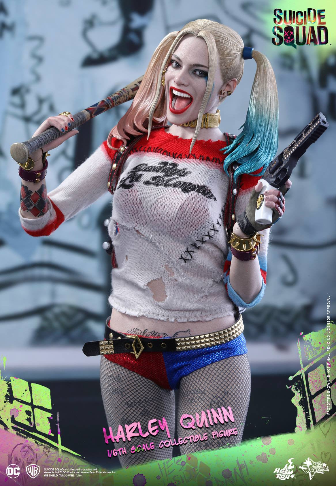 Hot Toys - MMS383 - Suicide Squad - Harley Quinn (Normal Edition) - Marvelous Toys - 12