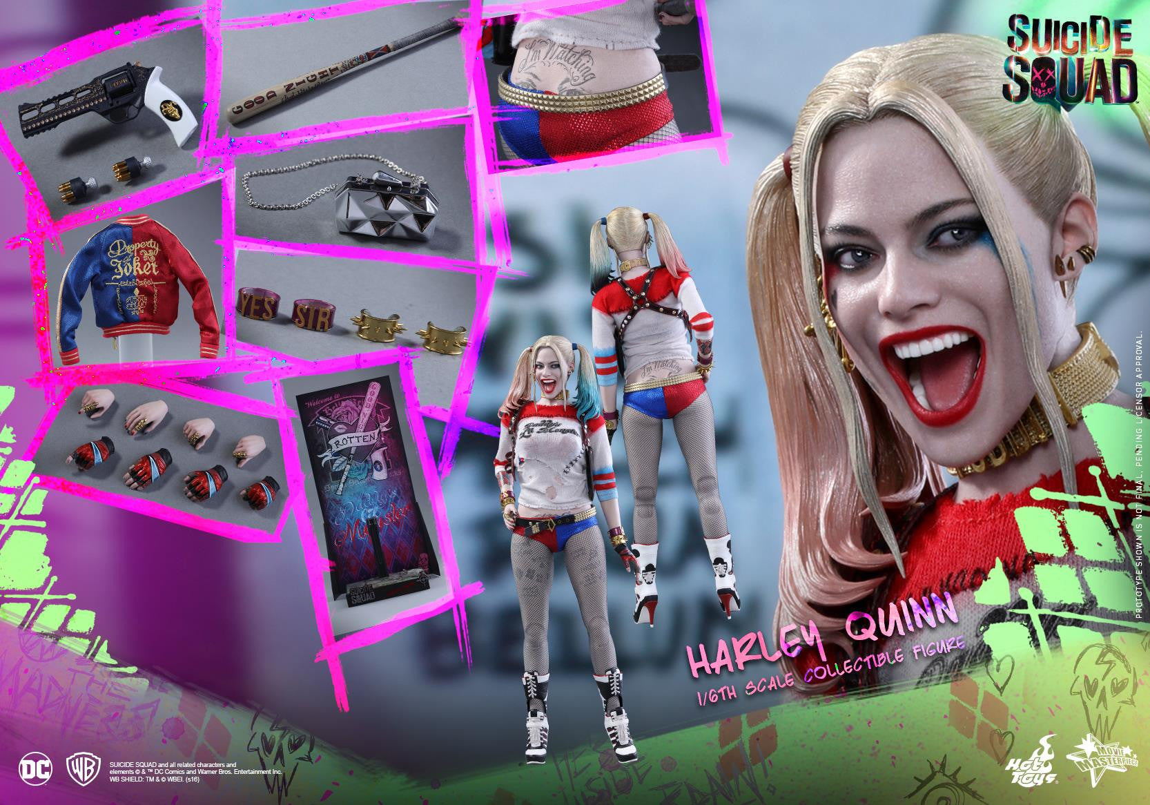 Hot Toys - MMS383 - Suicide Squad - Harley Quinn (Normal Edition) - Marvelous Toys - 17