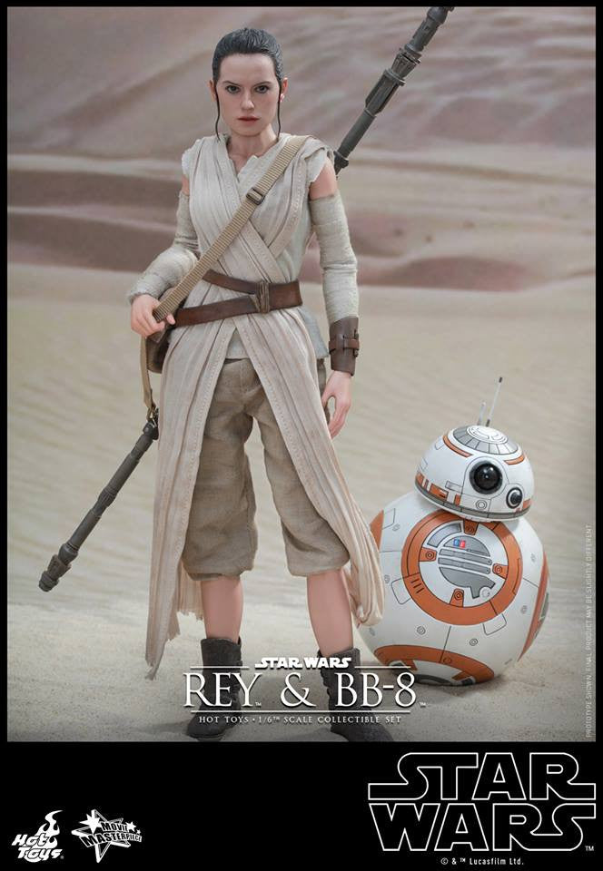 Hot Toys - MMS337 - Star Wars: The Force Awakens - Rey and BB-8