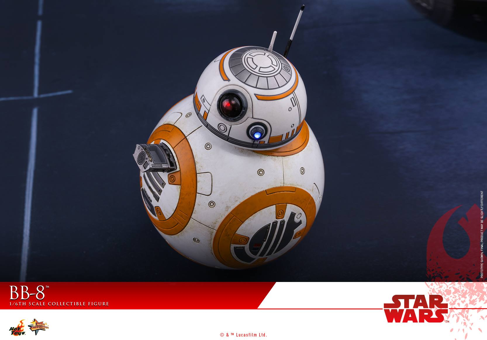 Hot Toys - MMS440 - Star Wars: The Last Jedi - BB-8 (1/6 Scale)