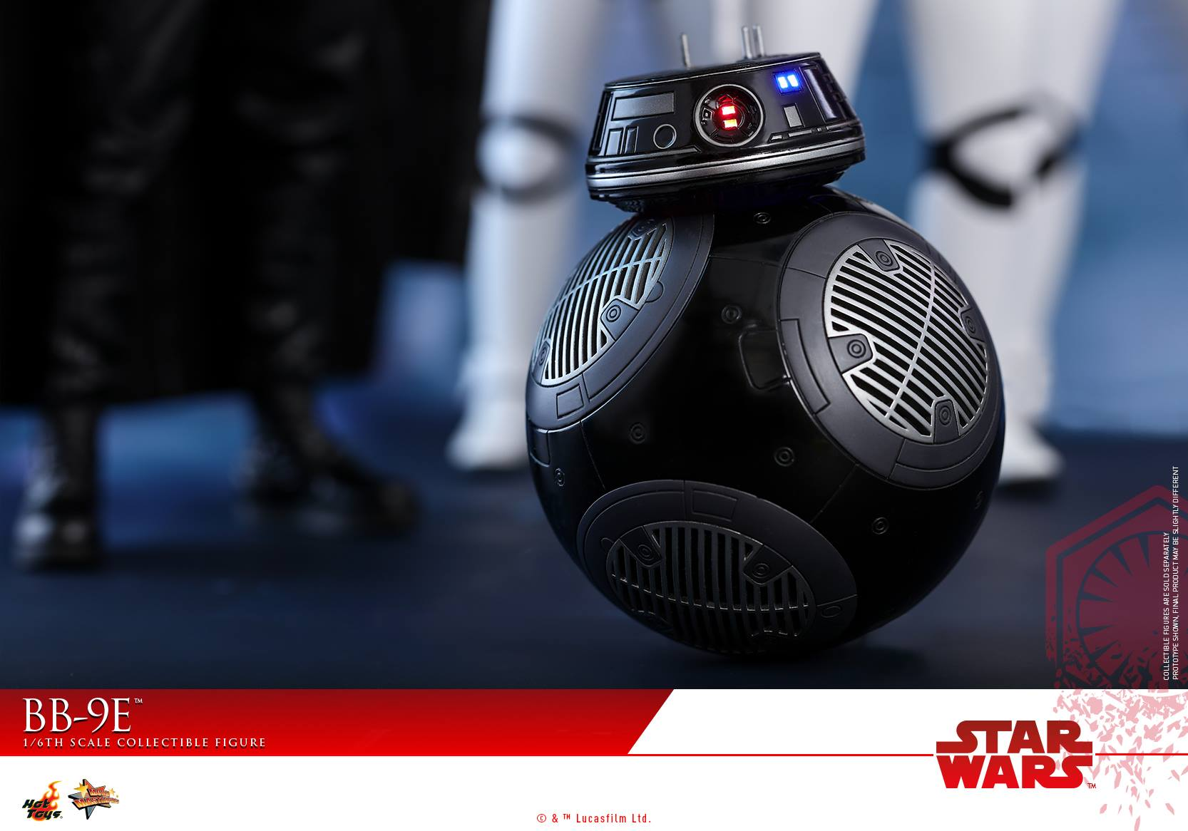 Hot Toys - MMS441 - Star Wars: The Last Jedi - BB-9E (1/6 Scale)