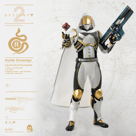 ThreeZero - Destiny 2 - Hunter Sovereign (Calus's Selected Shader) (1/6 Scale)