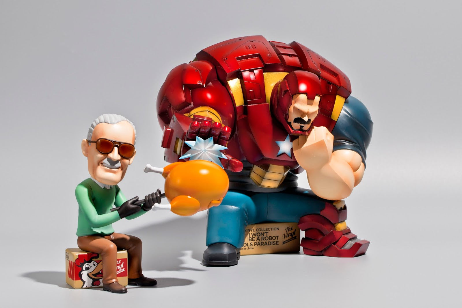 Fools Paradise - I Won't Be A Robot, Lee (Iron Man and Stan Lee)