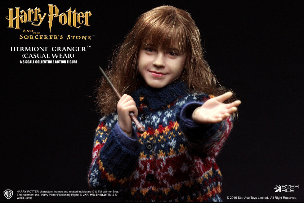 Star Ace Toys - SA0013 - Harry Potter And The Sorcerer's Stone - Hermione Granger (Casual Wear) - Marvelous Toys - 3