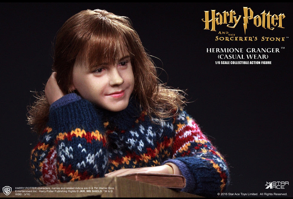 Star Ace Toys - SA0013 - Harry Potter And The Sorcerer's Stone - Hermione Granger (Casual Wear) - Marvelous Toys - 4