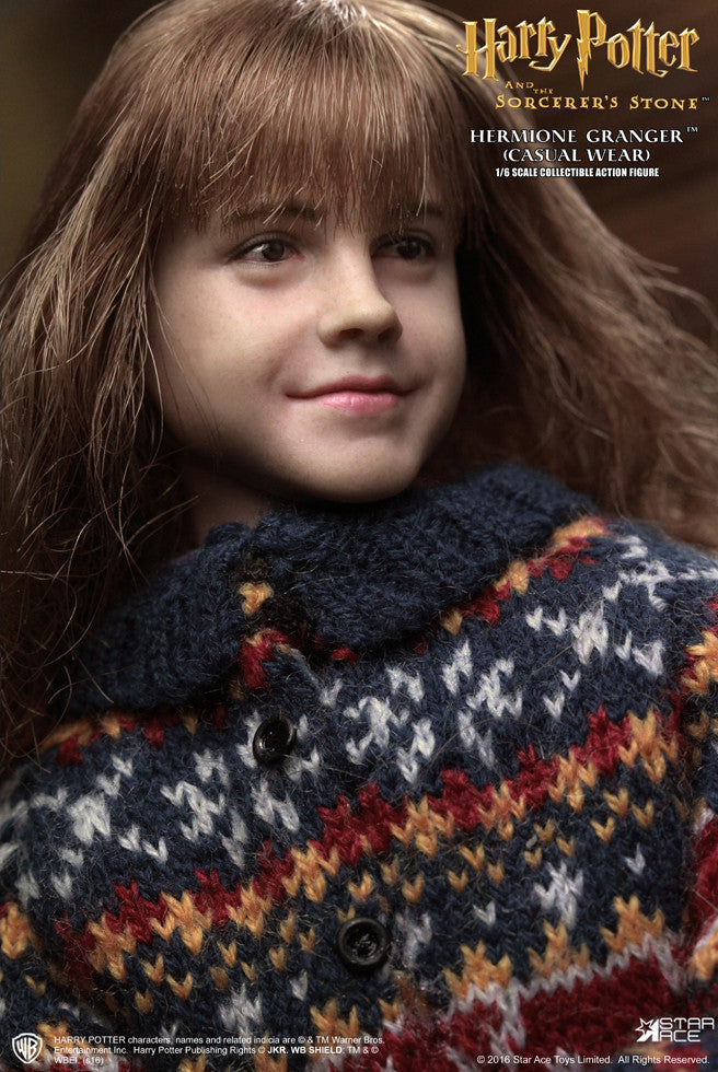 Star Ace Toys - SA0013 - Harry Potter And The Sorcerer's Stone - Hermione Granger (Casual Wear) - Marvelous Toys - 9