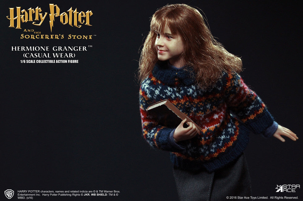 Star Ace Toys - SA0013 - Harry Potter And The Sorcerer's Stone - Hermione Granger (Casual Wear) - Marvelous Toys - 11