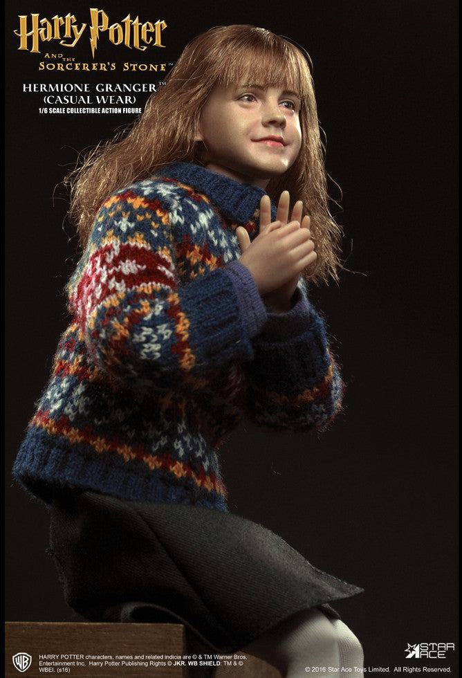 Star Ace Toys - SA0013 - Harry Potter And The Sorcerer's Stone - Hermione Granger (Casual Wear) - Marvelous Toys - 13