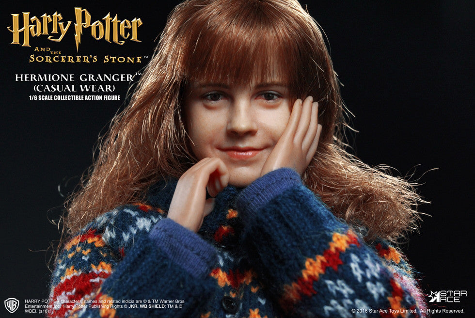 Star Ace Toys - SA0013 - Harry Potter And The Sorcerer's Stone - Hermione Granger (Casual Wear) - Marvelous Toys - 14