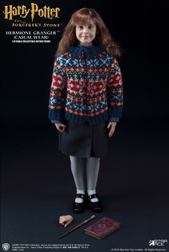 Star Ace Toys - SA0013 - Harry Potter And The Sorcerer's Stone - Hermione Granger (Casual Wear) - Marvelous Toys - 18